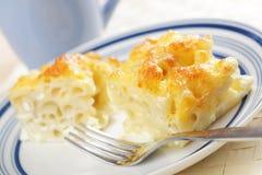 Macaroni cheese Royalty Free Stock Photography