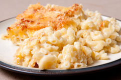 Macaroni and cheese Stock Photos
