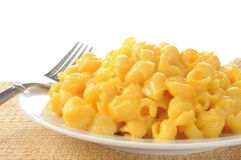 Macaroni and cheese Royalty Free Stock Images