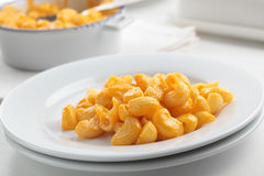 Macaroni cheese Stock Photo