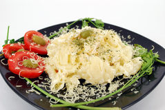 Macaroni cheese Stock Image