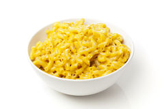 Macaroni and Cheese in a bowl Royalty Free Stock Photography