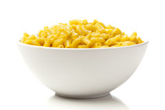 Macaroni and Cheese in a bowl Stock Photography