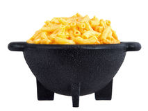 Macaroni and cheese dinner Stock Photos