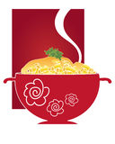 Macaroni and cheese Royalty Free Stock Photo