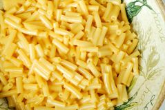 Macaroni and Cheese Pasta Royalty Free Stock Image