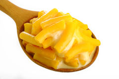 Macaroni and cheese Royalty Free Stock Image