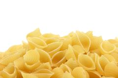 Macaroni copy space Royalty Free Stock Images
