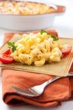 Macaroni en kaas royalty-vrije stock afbeeldingen