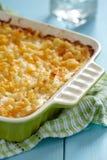 Macaroni en kaas stock afbeeldingen