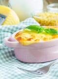 Macaroni en Kaas royalty-vrije stock fotografie
