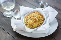 Macaroni en Kaas Royalty-vrije Stock Afbeelding