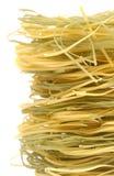 Macaroni_green_yellow Royalty-vrije Stock Foto's