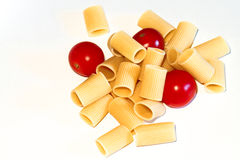 Macaroni Italiaanse deegwaren stock foto