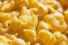 Macaroni italian pasta background Stock Photo