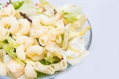 Macaroni italian paste salad Royalty Free Stock Photography