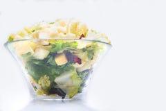 Macaroni italian paste salad Stock Images