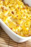 macaroni met kaas Stock Fotografie