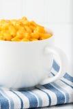 Macaroni Mug Closeup Royalty Free Stock Photos