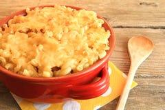 Macaroni och ost Arkivbilder