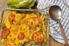 Macaroni och ost Royaltyfria Foton