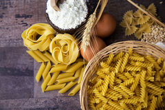 Macaroni Pasta Royalty Free Stock Photography