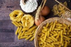Macaroni Pasta Royalty Free Stock Photography