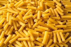 Macaroni Pasta raw close up Royalty Free Stock Photo