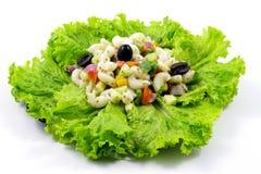 Macaroni Salad Stock Photo