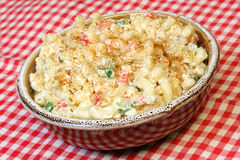 Macaroni Salad Royalty Free Stock Photography