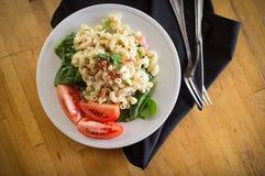 Macaroni Salad and Veggies Royalty Free Stock Photography