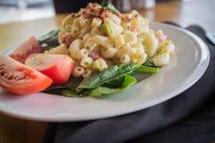 Macaroni Salad and Veggies Stock Images
