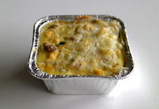 Macaroni schotel royalty-vrije stock foto's