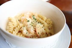 Macaroni shrimp Stock Photos