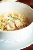 Macaroni shrimp Stock Image