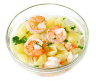 Macaroni Soup Royalty Free Stock Photo