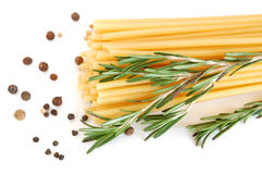 Macaroni and spice Stock Images