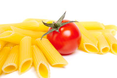 Macaroni and Tomato stock photos