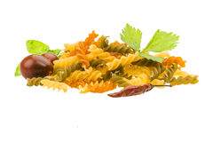Macaroni - various color Royalty Free Stock Photography