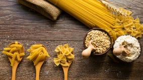 Macaronideegwaren Royalty-vrije Stock Afbeeldingen
