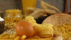 Macaronideegwaren stock videobeelden