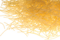 macaroninudlar Arkivfoton