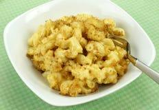 Macaronis au fromage Images libres de droits