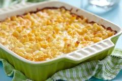 Macaronis au fromage Photo libre de droits
