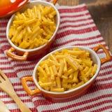 Macaronis au fromage Photo stock