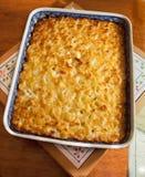 Macaronis de bouillonnement chauds Photographie stock