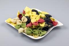 Macaronis de couleur Photographie stock