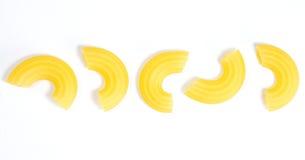 Macaronis de pâtes images stock