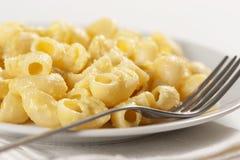 Macaronis et fromage photos stock