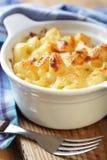 Macaronis et fromage photo libre de droits